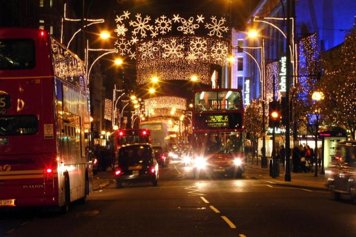 3panów - Christmas Illumination in London
