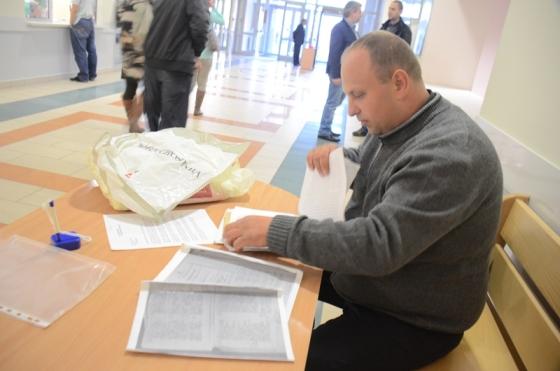 Andrzej Duszak w sądzie