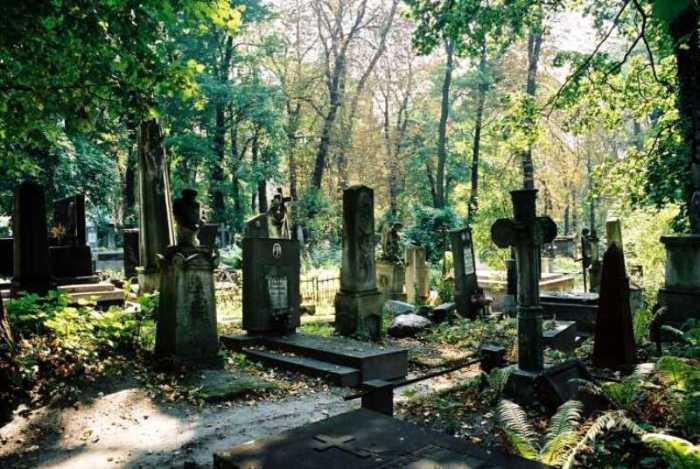 Cmentarz Łyczakowski we Lwowie fot. Kataczyna Łuczyńska