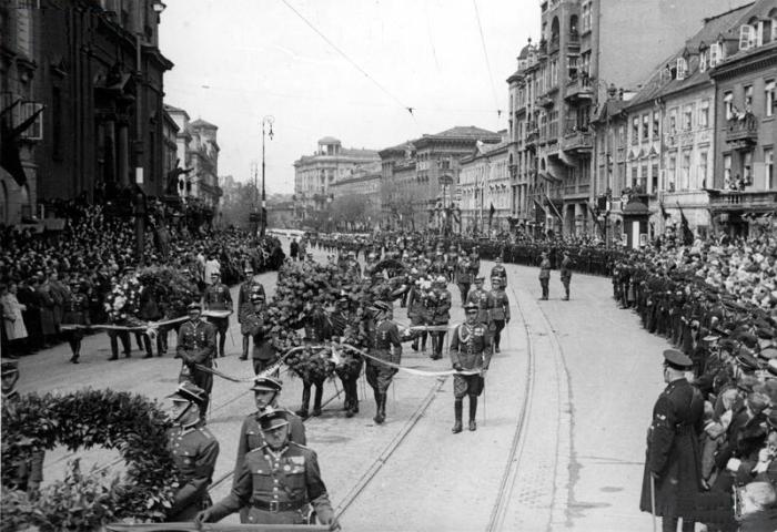 Krakowskie Przedmieście 1934