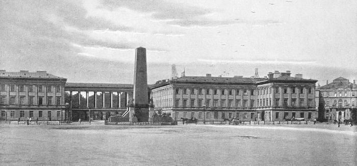Plac Saski fot. sprzed 1894