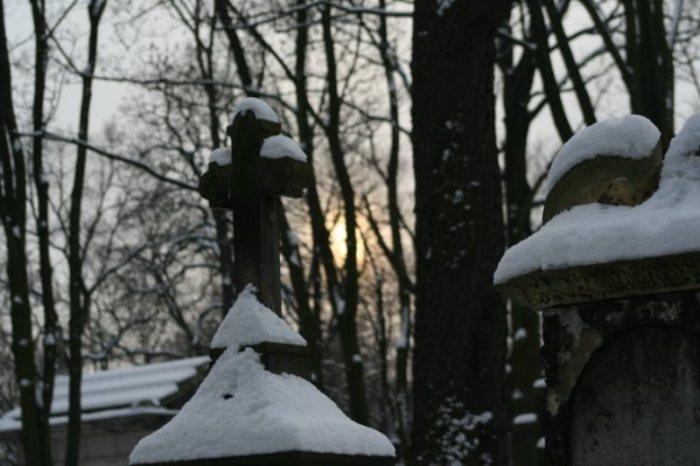 Cmentarz na warszawskich Powązkach  fot. M. Pietkun rok 2007