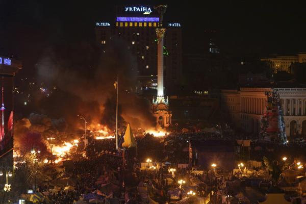 Kijów Majdan fot. Les Voix Du Monde