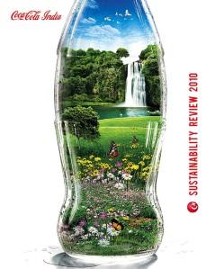 Okładka raportu CSR Coca-Cola India