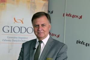 Andrzej Lewiński zastępca Generalnego Inspektora Ochrony Danych Osobowych