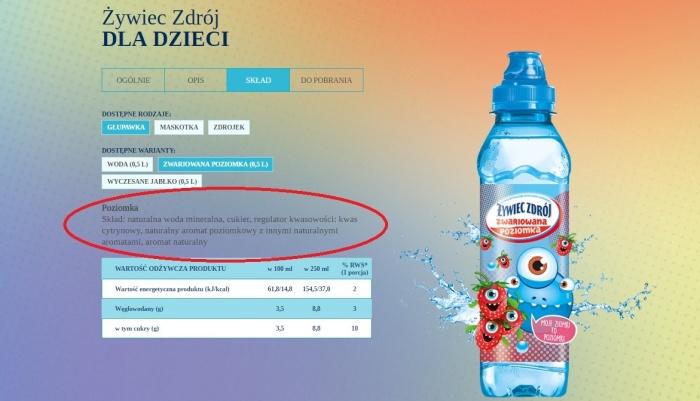Woda Żywiec i cukier (2)